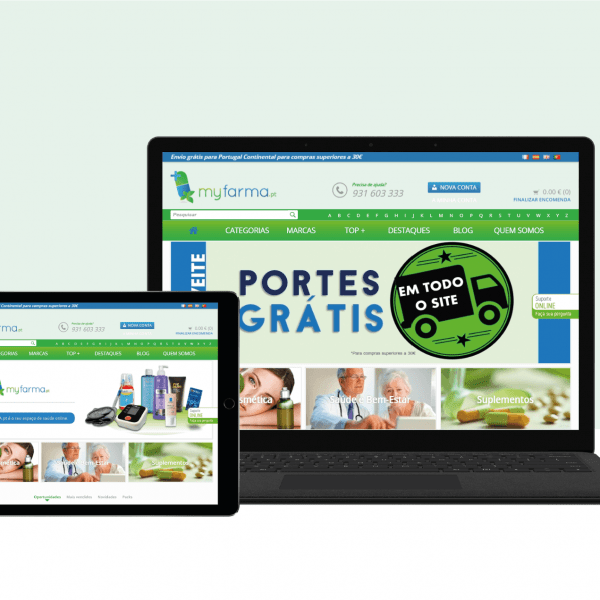 MyFarma.pt Portfolio Cover