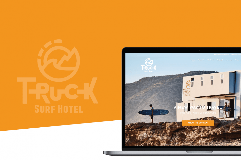 Truck Surf Hotel Portfolio Cover